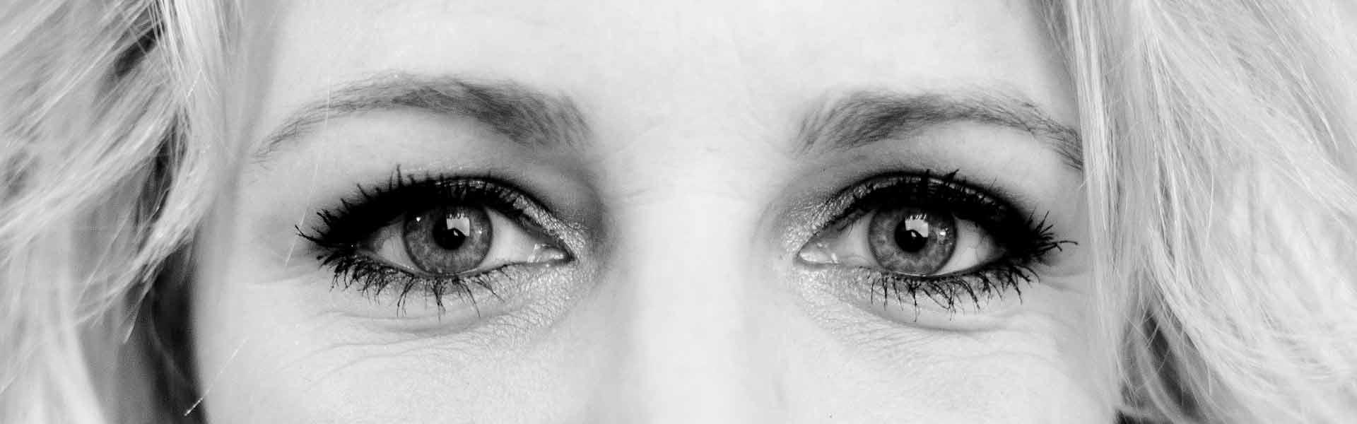 portret ogen barbara close detail